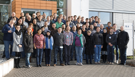 Group photo from the BrainScaleS CodeJam Workshop #6
