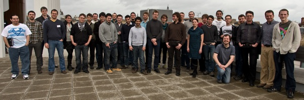 Group photo from the BrainScaleS CodeJam Workshop #5